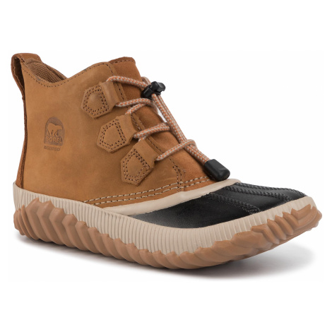 Outdoorová obuv SOREL - Youth Out N About Plus NY1913 Elk/Black 286
