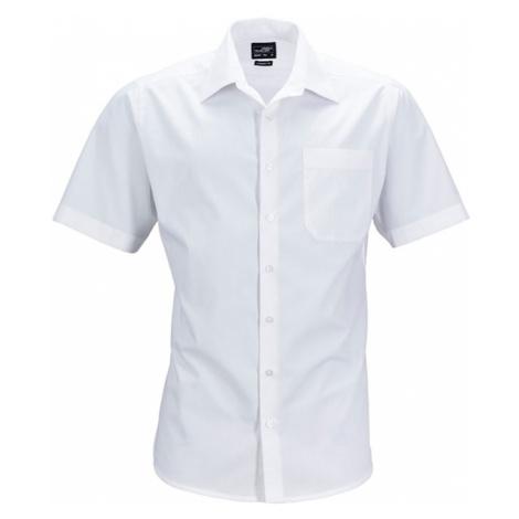 James & Nicholson Pánska košeľa s krátkym rukávom JN644
