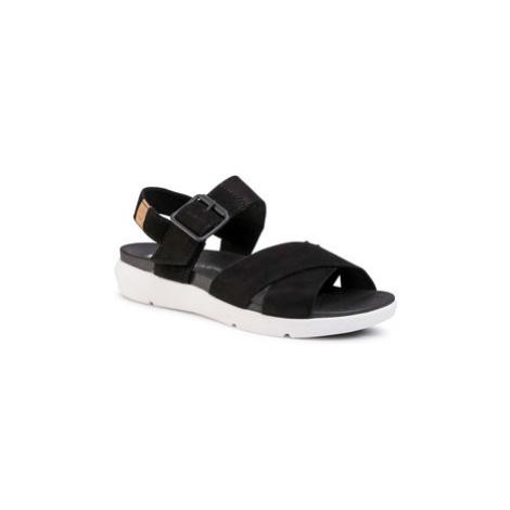Timberland Sandále Wilesport Lthr Sandal TB0A27T60151 Čierna
