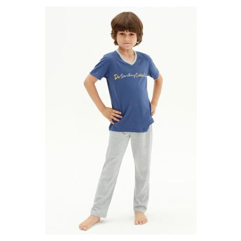 Chlapčenské pyžamo Creative modrá Blackspade