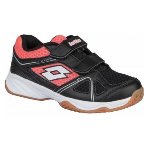 Lotto JUMPER 400 II CL S čierna - Detská halová obuv
