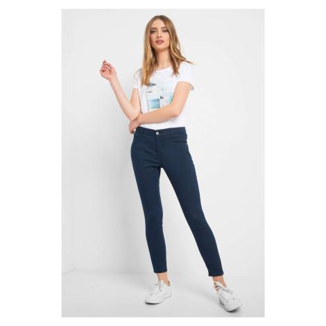 Skinny nohavice so zipsami Orsay