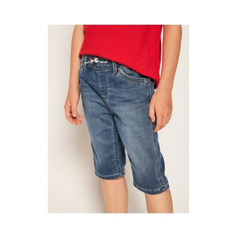 Pepe Jeans Džínsové šortky Gene Zip PB800587 Tmavomodrá Regular Fit