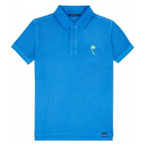 O'Neill LB PALM POLO modrá - Chlapčenské polo tričko