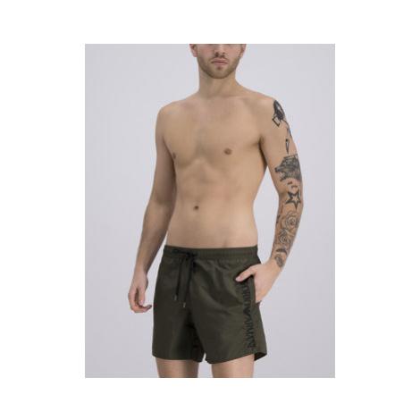 Emporio Armani Plavecké šortky 211740 9P422 01781 Zelená Regular Fit