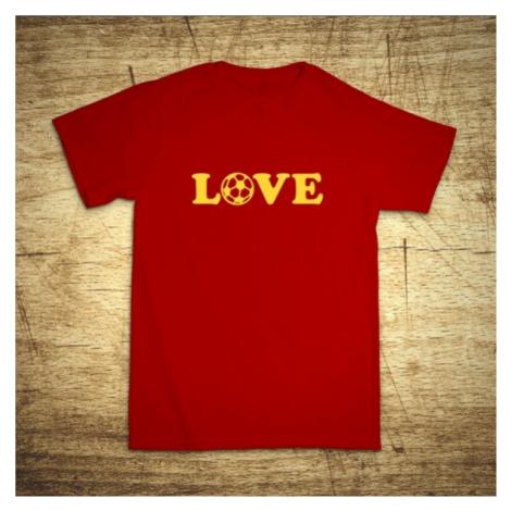Detské tričko s motívom Love