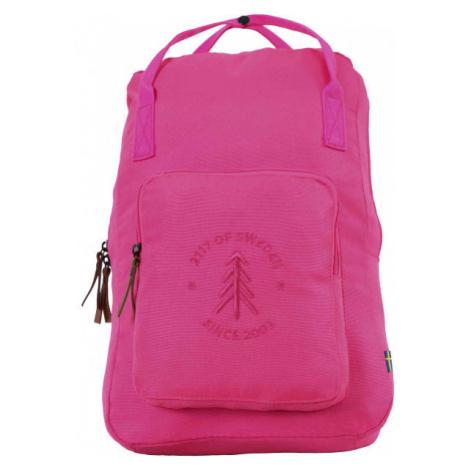 2117 STEVIK 20L ružová - Stredný mestský batoh
