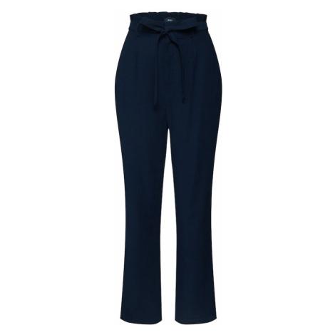 OBJECT Plisované nohavice 'CELESTE'  modrá