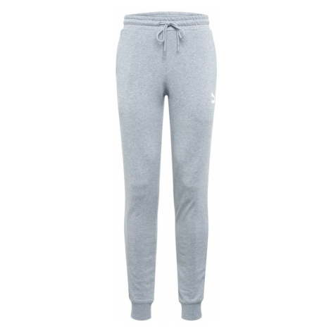 PUMA Športové nohavice  sivá