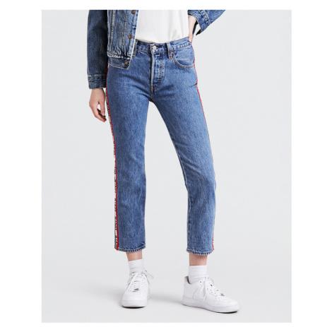 Levi's® 501® Crop Spectator Sport Jeans Modrá Levi´s