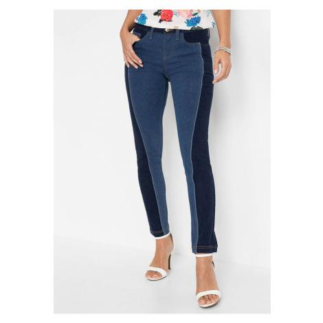 Skinny džínsy, dvojfarebné