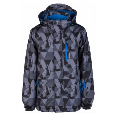 Lewro LOGAN sivá - Detská snowboardová bunda