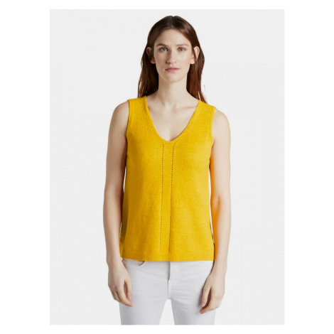 Mustard Women's Top Tom Tailor