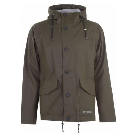 Stutterheim Stenhemra Lightweight Rain Jacket Green