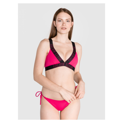 Vrchní díl plavek Calvin Klein Růžová