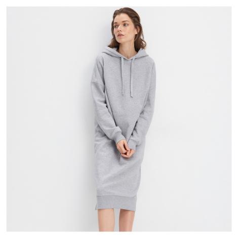 Mohito - Teplákové šaty Eco Aware - Šedá