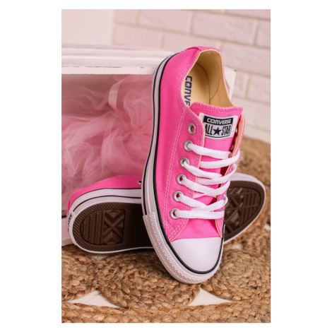 Dámske ružové nízke tenisky Chuck Taylor All Star Converse