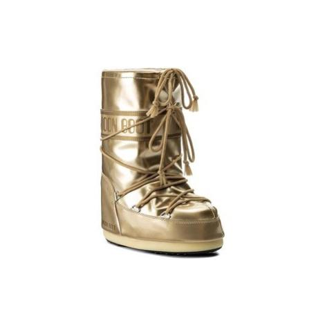 Moon Boot Snehule Vinile Met. 14021400003 Zlatá