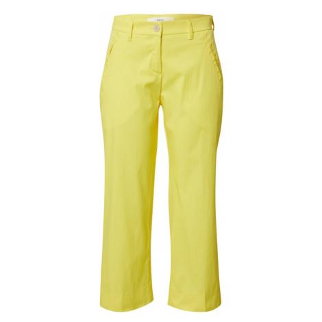 BRAX Nohavice 'MAINE S'  žltá