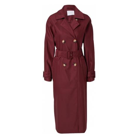IVY & OAK Prechodný kabát  bordová