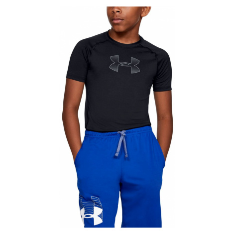Armour HeatGear Short Sleeve-BLK Under Armour
