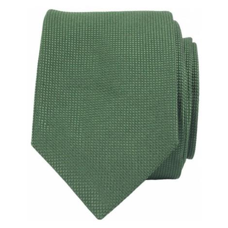 John & Paul Zelená hodvábna kravata John & Paul