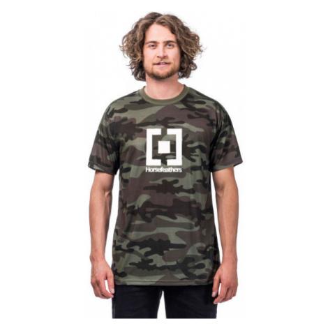 Horsefeathers BASE T-SHIRT tmavo zelená - Pánske tričko