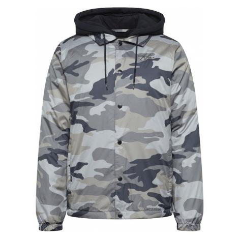 HOLLISTER Prechodná bunda  olivová / sivá / čierna / námornícka modrá