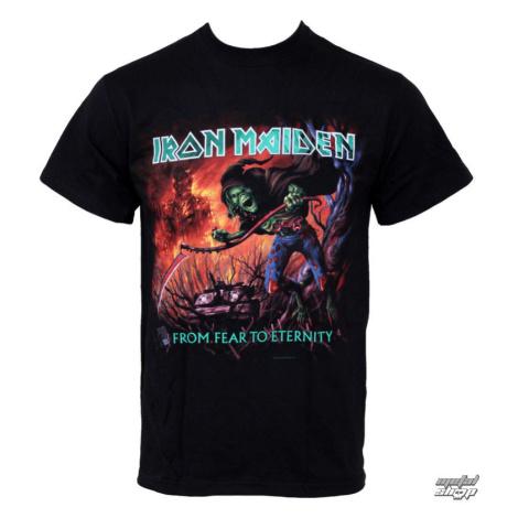Tričko metal ROCK OFF Iron Maiden From Fear To Eternity Čierna