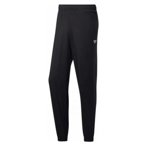 Reebok TE WVN C LINED PANT čierna - Pánske nohavice
