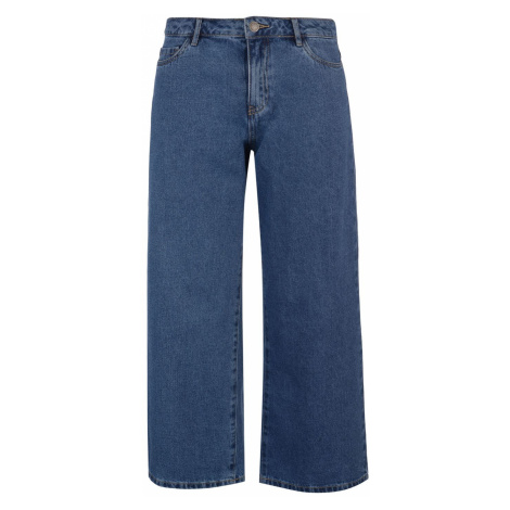 Only Sonny Wide Ladies Jeans Medium Blue Dnm