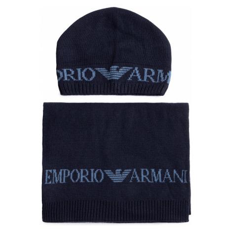 Set čiapka a šál EMPORIO ARMANI
