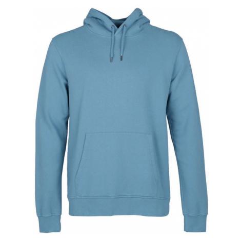 Colorful Standard Classic Organic Hood-XL modré CS1006-SB-XL