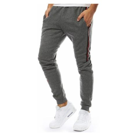 Men's sweatpants joggers anthracite UX2129 DStreet