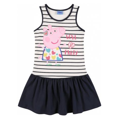 Peppa Pig Šaty  námornícka modrá / biela / ružová / zmiešané farby