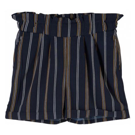 NAME IT Nohavice 'Dera'  horčicová / biela / námornícka modrá