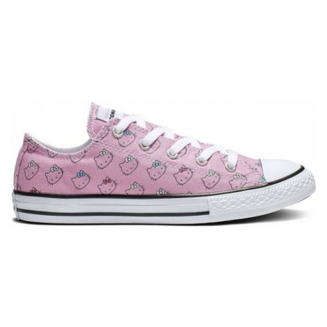 Converse CHUCK TAYLOR ALL STAR HELLO KITTY ružová - Dievčenské nízke tenisky