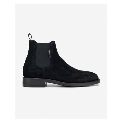 Gant Brockwill Členkové topánky Čierna