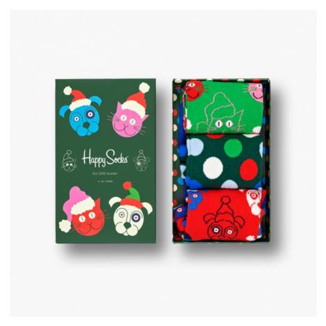 Happy Socks Santa Animals Giftbox SXCAT08 7500