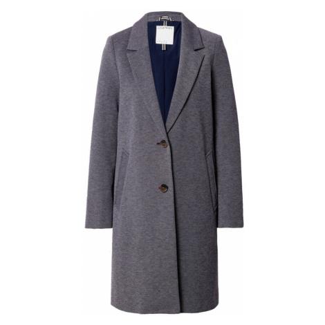 ESPRIT Prechodný kabát  námornícka modrá / biela