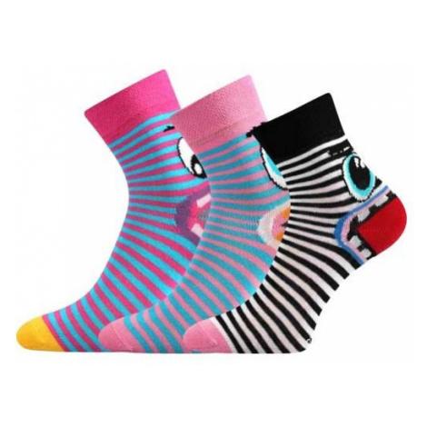 Voxx TLAMÍK čierna - Dievčenské ponožky