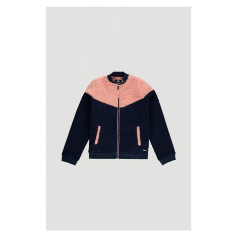O'NEILL Flisová bunda  modrá / ružová