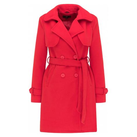 faina Prechodný kabát  červená