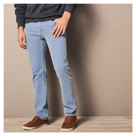 Blancheporte Špeciálne džínsy pre väčšie bruško zapratá modrá