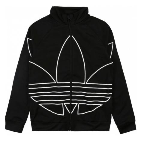ADIDAS ORIGINALS Prechodná bunda  čierna / biela