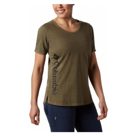 Columbia CSC W PIGMENT TEE zelená - Dámske tričko