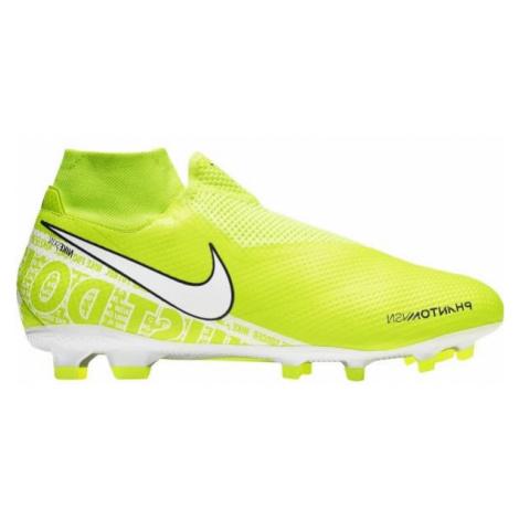 Nike PHANTOM VISION PRO DF FG svetlo zelená - Pánske kopačky