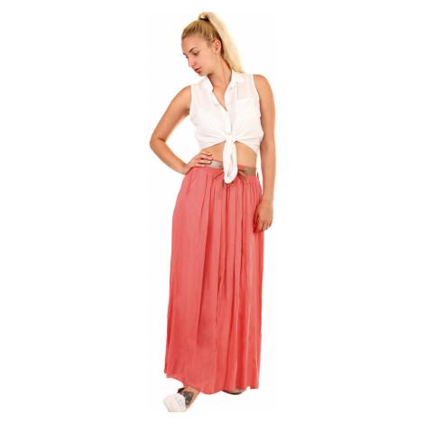 Dámska dlhá sukňa s vreckami