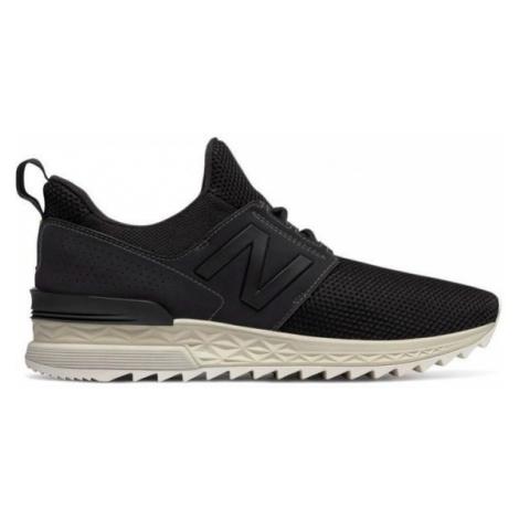 New Balance MS574DUK čierna - Pánska voľnočasová obuv