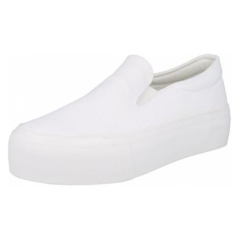 ABOUT YOU Slip-on obuv 'Feline Shoe'  biela